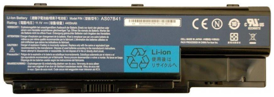 Аккумулятор для ноутбука Acer Aspire 6530G 11.1V, 4400mah