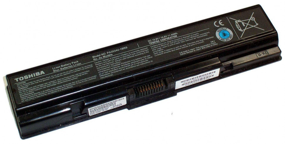 Аккумуляторная батарея PA3534U-1BRS для ноутбуков Toshiba Satellite A200 A210 A300 A500 L200 L300 L500 L550 M200 серий 10.8v 4800mAh