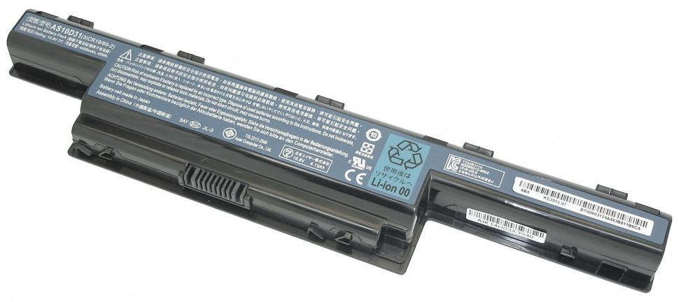аккумуляторная батарея AS10D31 для ноутбука ACER Aspire 4551 4771 5336 5551 5552 5741 5742 7551 7552 7741 TravelMate 5740 eMachines