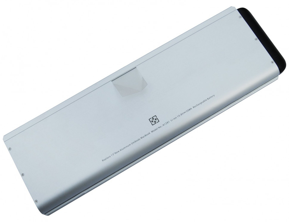 Батарея для ноутбуков APPLE MacBook Pro 15 (2008г) 10.8V 4800mAh PN: A1281 A1286 MB772 MB470 MB471