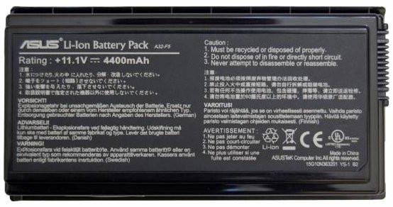 Аккумуляторная батарея ASUS F5M F5N F5Sr F5Z F5RI F5SL F5VI F5VL X5 X50C X50M X50N X50RL X50SL X50VL Series (11.1V. 5200mAh). PN: A32-F5