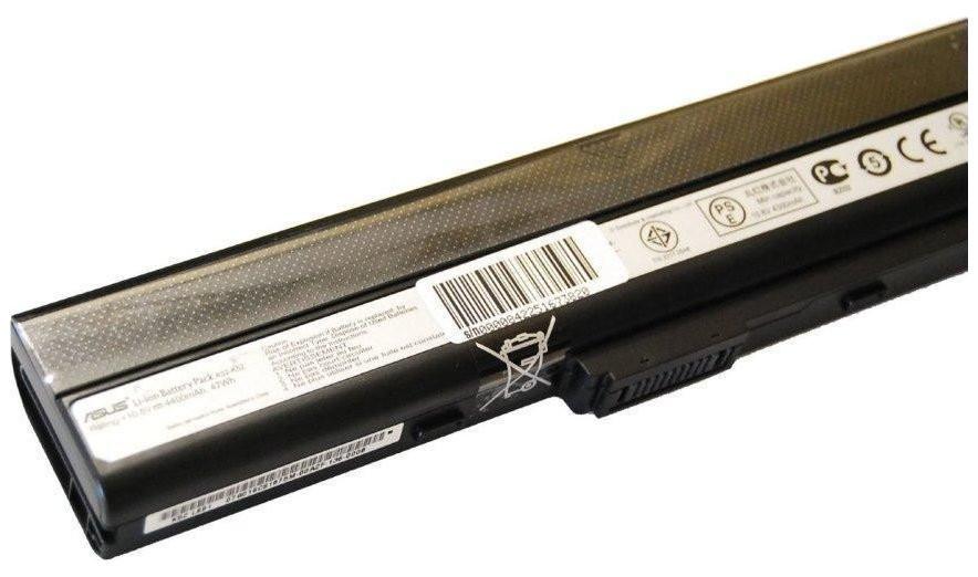 Батарея Asus A32-K52 для ноутбуков A40 A42 A52 A62 B53 F85 F86 K42 K52 K62 N82 P42 P52 P62 P82 X42 X52 X62 X5I X57 Серии (10.8v 4400mAh)