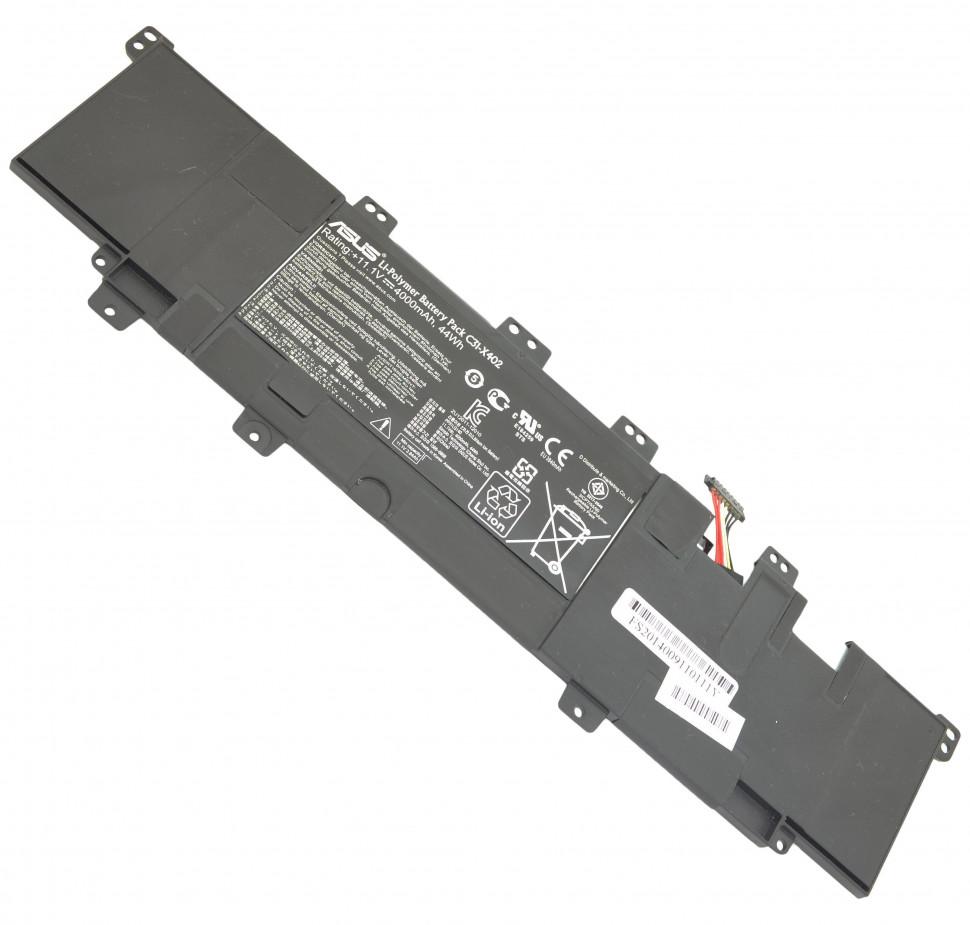Аккумулятор Asus для ноутбуков Asus X402, X402CA, VivoBook S300, S300CA, S400, S400CA (11.1v 3840mah) C31-X402