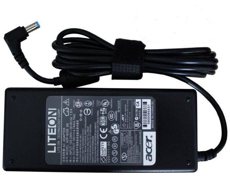 Блок питания для ноутбуков Acer TravelMate 4001 19V, 4.74A, 5.5-1.5мм