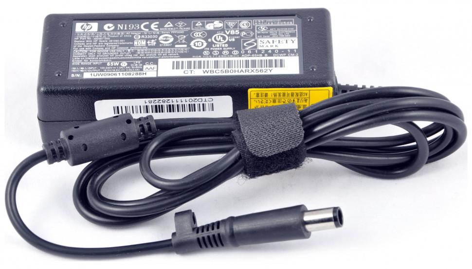 Блок питания HP (для ноутбуков) 18.5v - 3.5a, (разъём 7.4x5.5мм с иглой) 65w