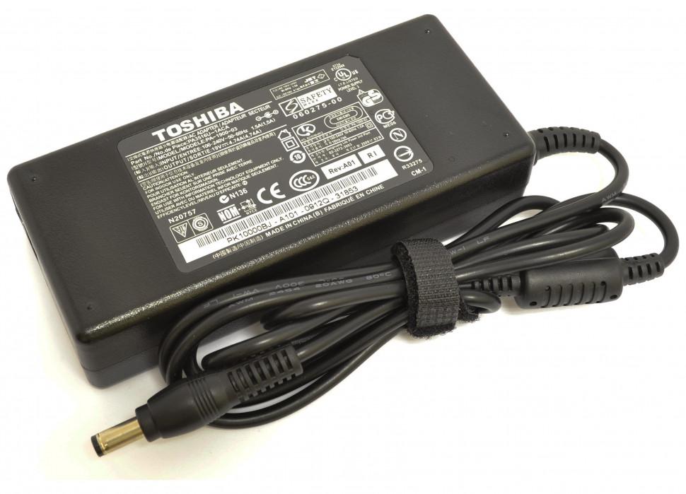 Блок питания Toshiba (для ноутбуков) 19v-4.74a (разъём 5.5-2.5мм) 90w