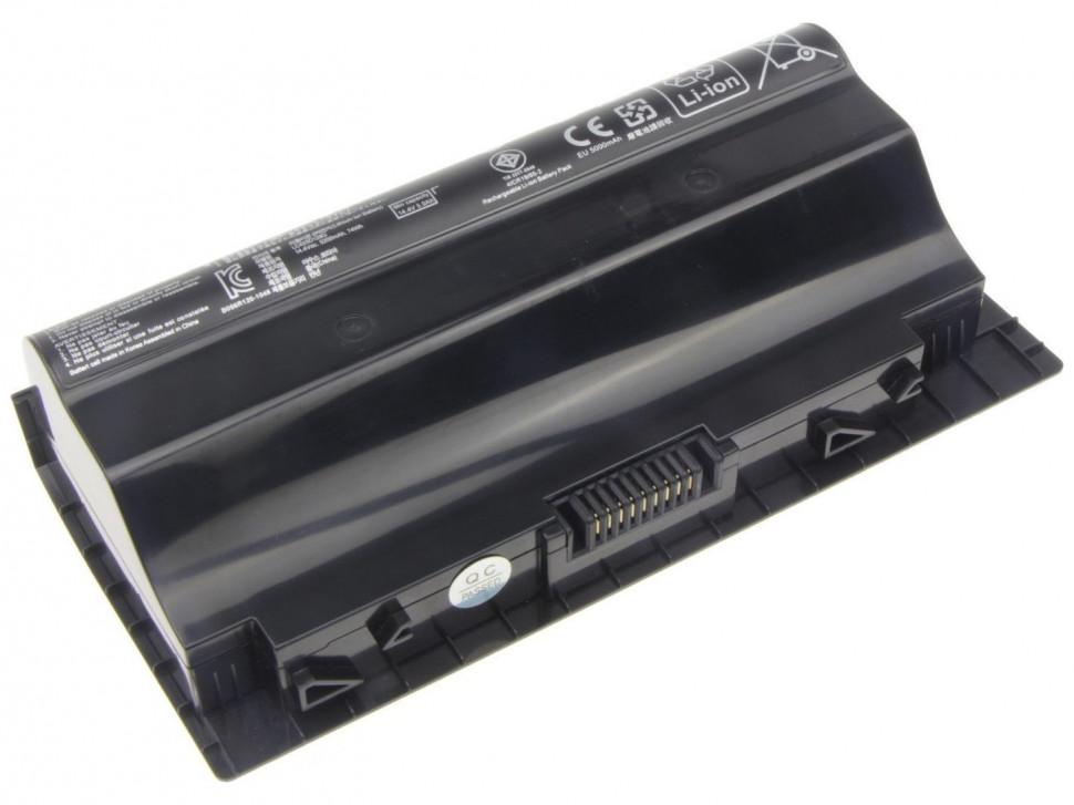 Аккумуляторная батарея ASUS G75 Series ASUS G75V Series ASUS G75VM Series Asus A42-G75 G75 G75V G75VM G75VX ( 14.4V 5200 mAh) 74Wh
