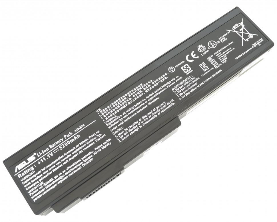 Батарея A32-M50 для ноутбука ASUS M50 M60 G50 G51 G60VX VX5 L50 X55 X57 N61 серий (11.1v 5200мАч)
