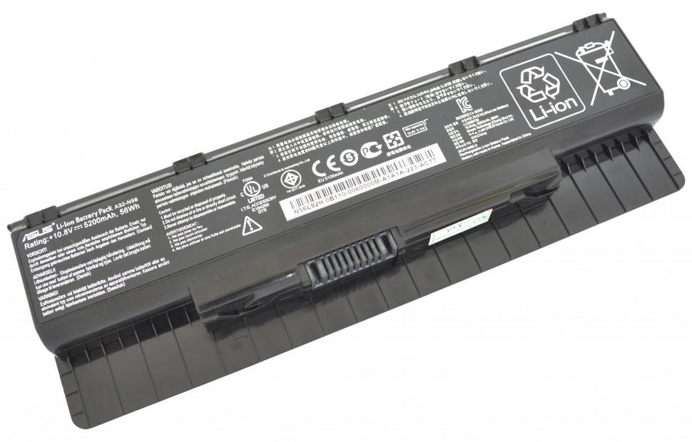 Аккумуляторная батарея ASUS для ноутбуков N46VJ , N46VM , N46VZ , N56DP, N56VJ , N56VM ,N56VZ, N76VJ, N76VM, N76VZ (10.8v 5200mAh)