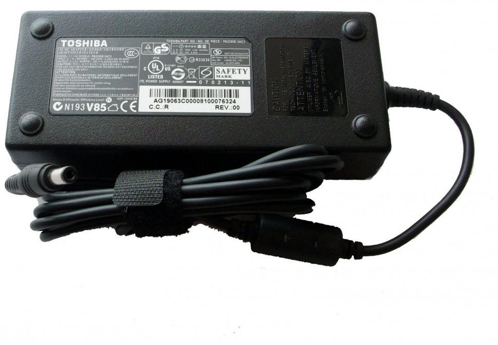 Блок питания Toshiba (для ноутбуков) 19v 6.3a (120w) разъём 5.5x2.5мм