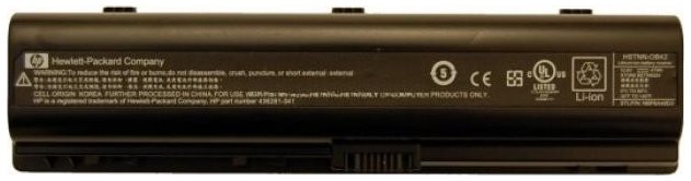 Батарея HP для ноутбука Pavilion Dv2000 Dv6000 Presario V3000 V6000 серий (10.8v 5200mAh) HSTNN-LB42